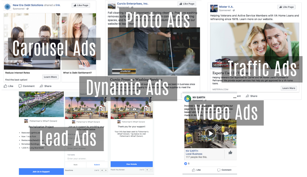 how to create facebook showcase ads