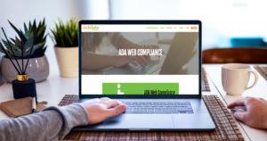computer showing ada site